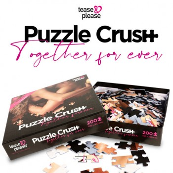 TEASE PLESAE PUZZLE CRUSH TOGETHER FOREVER 200 PC